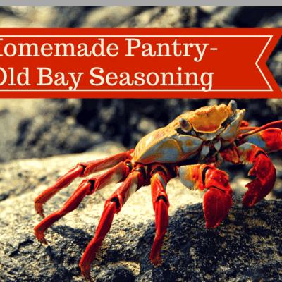Homemade Pantry-Homemade Old Bay Seasoning