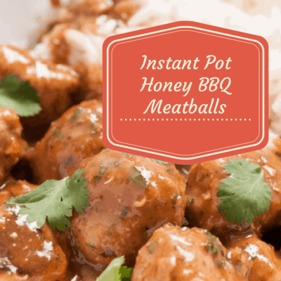 Pressure Cooker, Instant Pot, Honey BBQ Meatballs