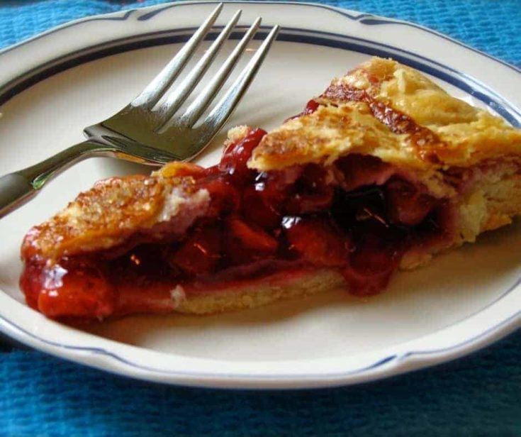 Air Fryer Homemade Cherry Pie