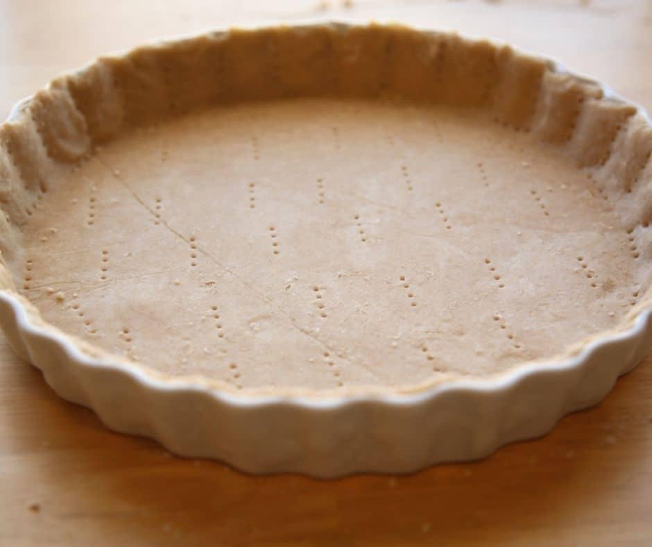 Frozen Pie Crust in Pan