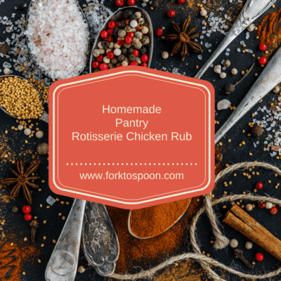 Homemade Pantry-Rotisserie Chicken Rub