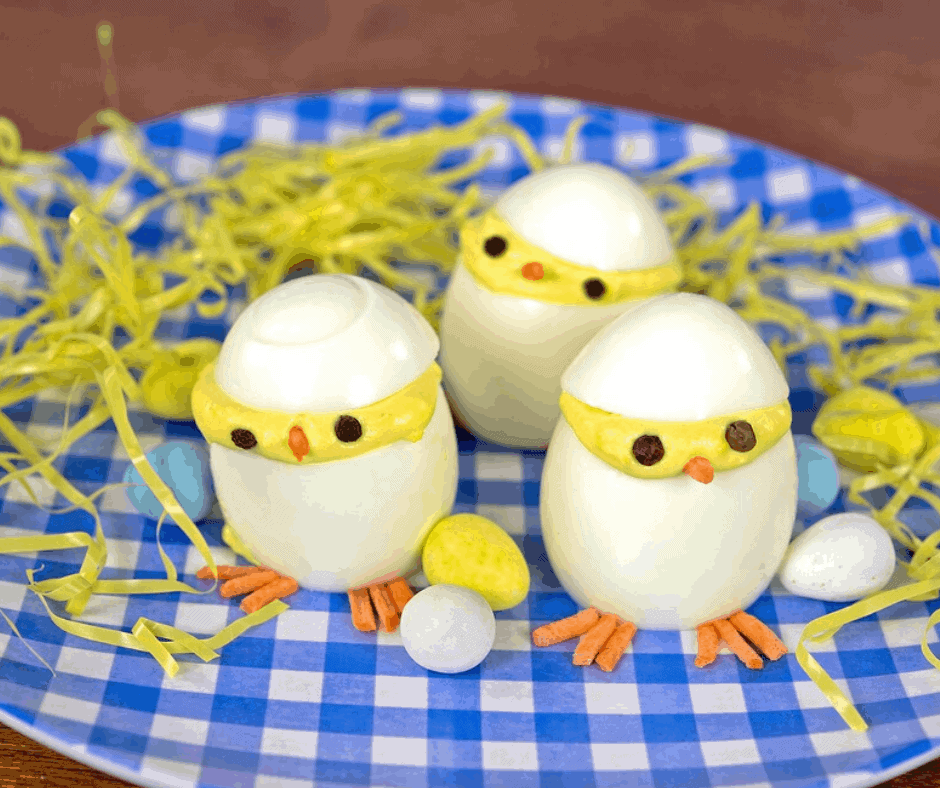 Instant Pot, Hatching Chicks Deviled Eggs