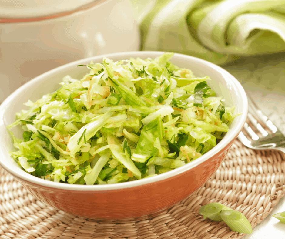 Air Fryer-Roasted Cabbage, Happy St. Patrick's Day