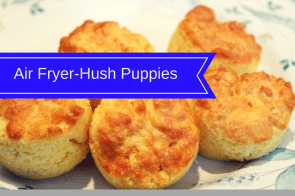 Air Fryer-Easy Hush Puppies