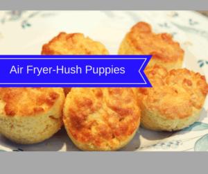 Air Fryer-Easy Hush Puppies