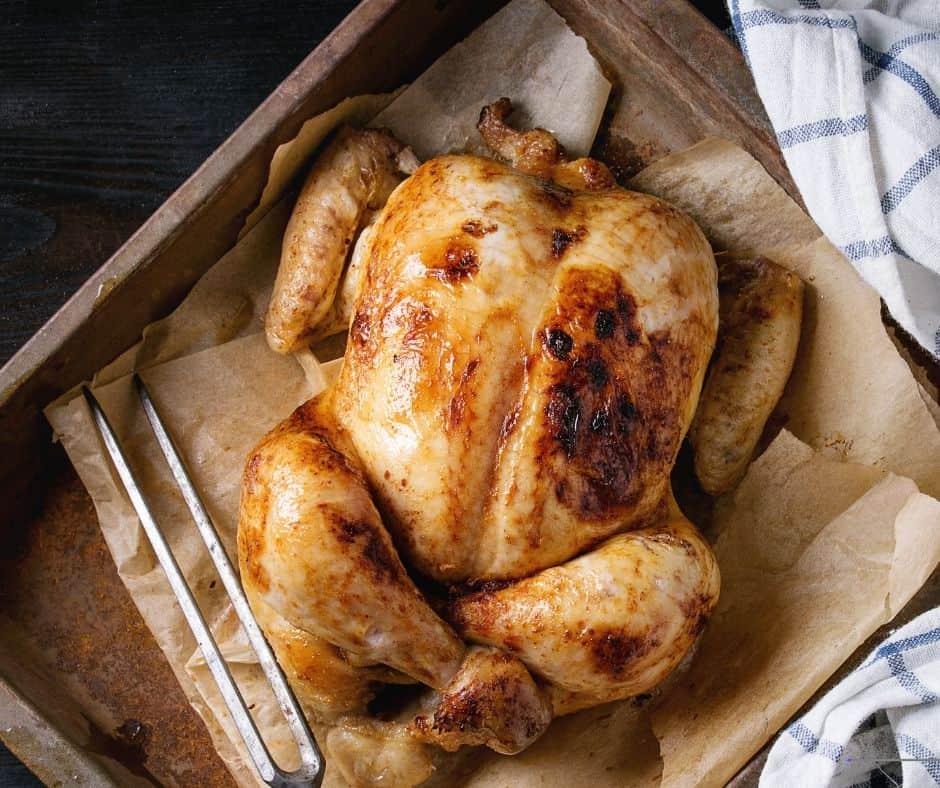 How to make rotisserre chicken in air fryer