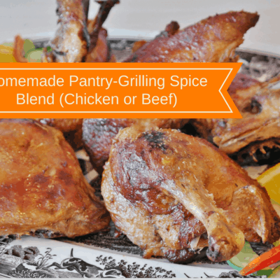 Homemade Pantry-Grilling Spice Blend (Chicken or Beef)