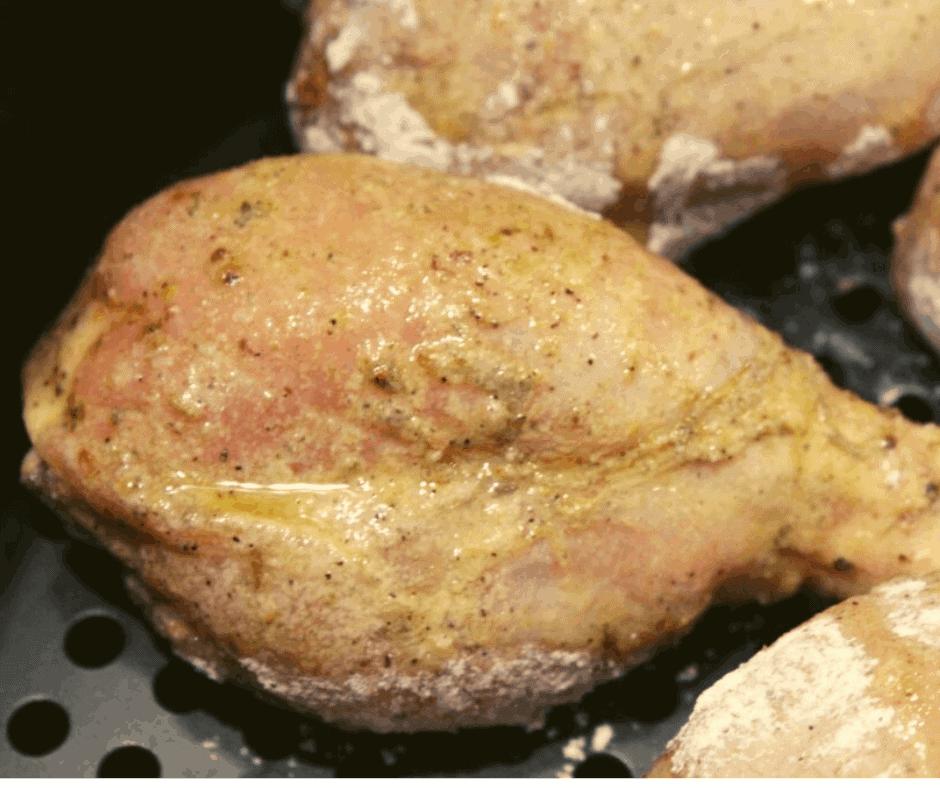 "Air Fryer-Kentucky Kernel ""Fried Chicken"" Chicken Drumsticks"