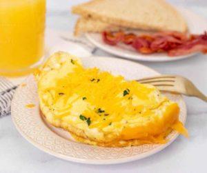Air Fryer Cheese Omelette (Omelet)