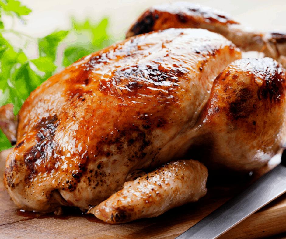 Air Fryer, Rotisserie Roasted Chicken (Whole Chicken)