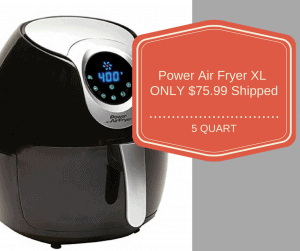 Kohl's Cardholders: Power Air Fryer XL (5 Quart) ONLY $75.99 Shipped!