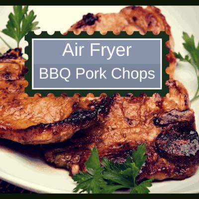 Air Fryer-BBQ Pork Chops (Homemade Copycat BBQ Shake & Bake)
