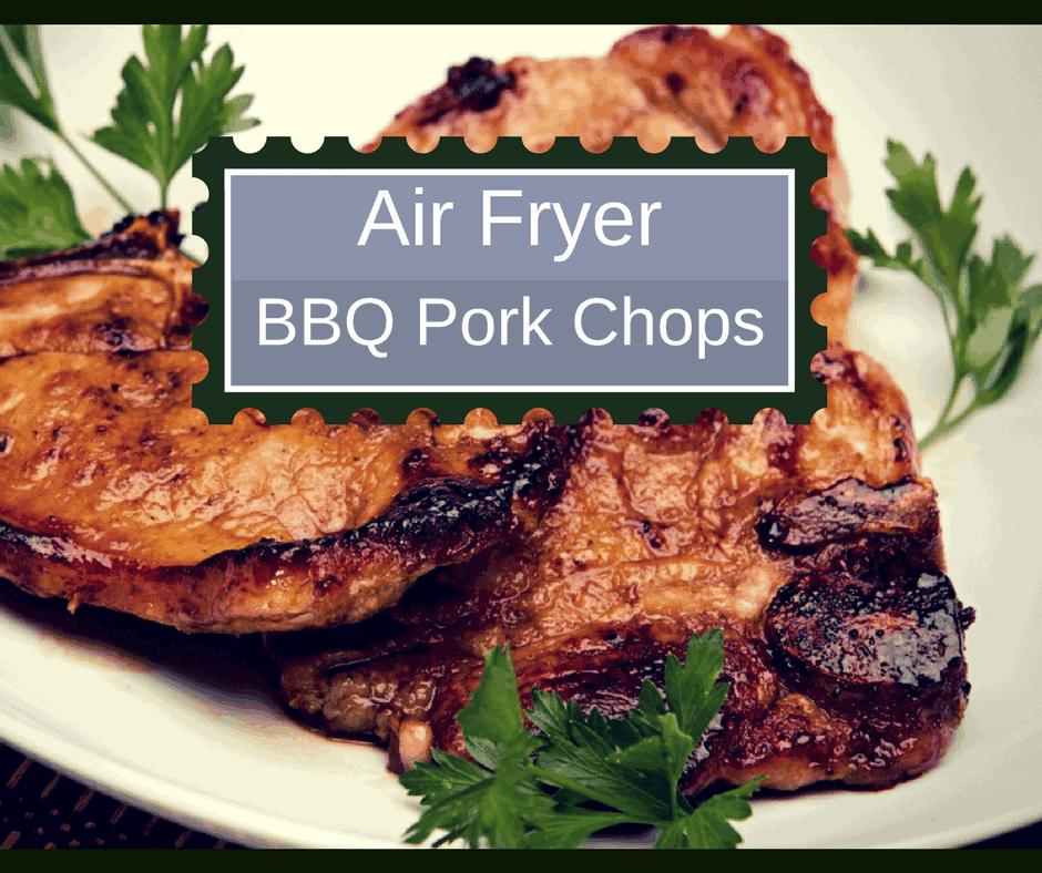 Air Fryer Bbq Pork Chops Homemade Copycat Bbq Shake Bake