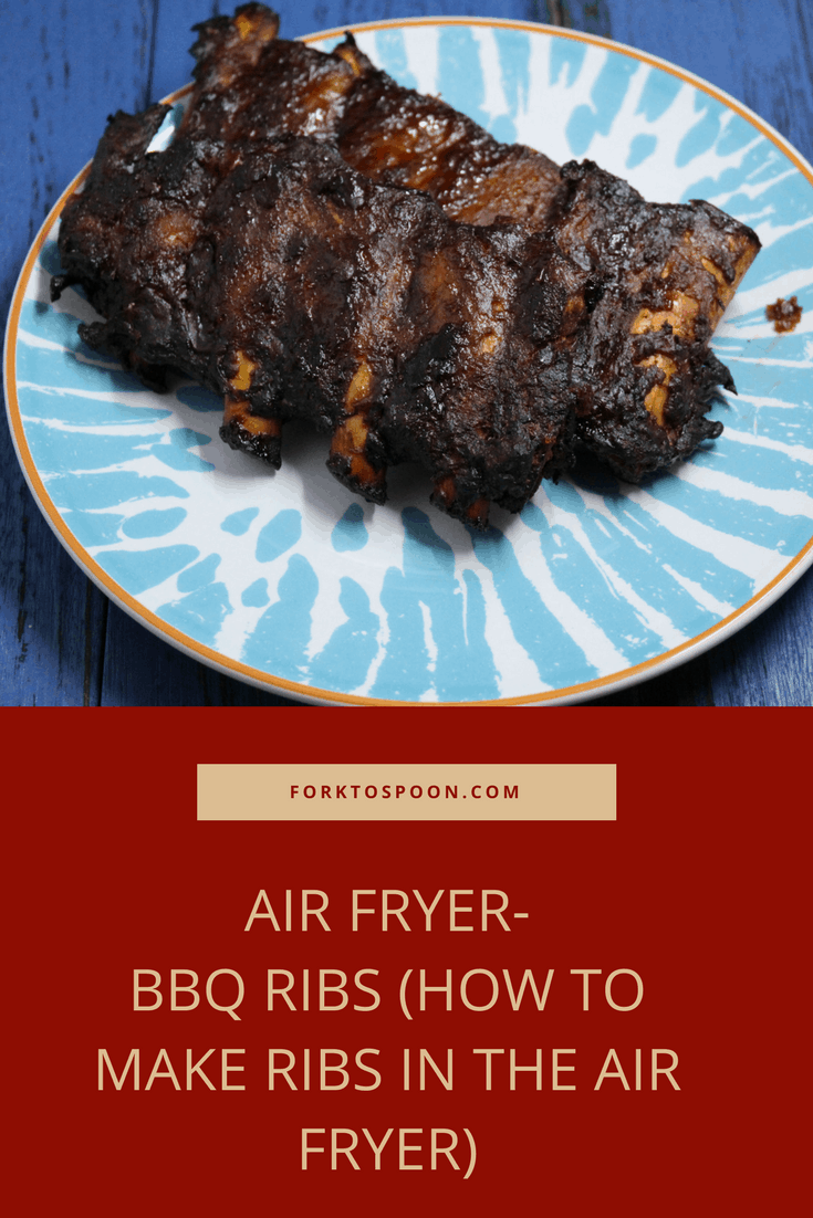 Air Fryer Bbq Ribs How To Make Ribs In The Air Fryer