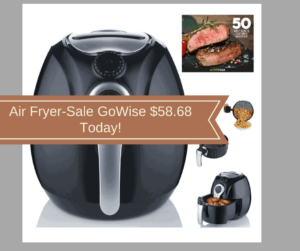 Air Fryer-Sale GoWise $58.68 Today!