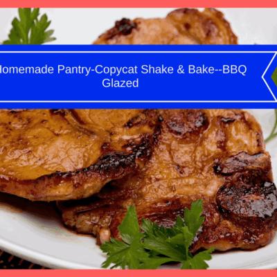 Homemade Pantry-Copycat Shake & Bake–BBQ Glazed