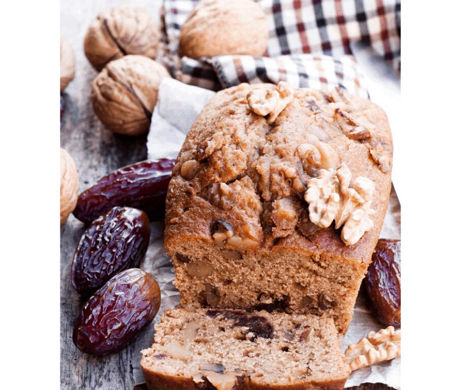 Air Fryer Date & Walnut Bread