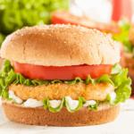 Air Fryer Chicken Patty Sandwich