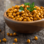 Air Fryer Ranch Roasted Chickpeas