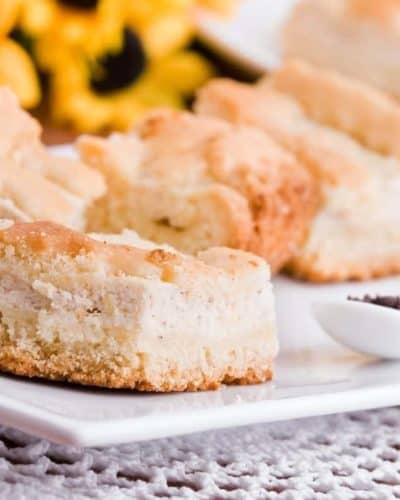 Air Fryer Italian Lemon Ricotta Cake
