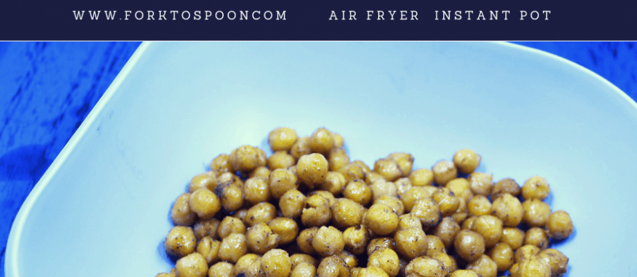 Air Fryer-Air Fried-Tex Mex Roasted Chickpeas