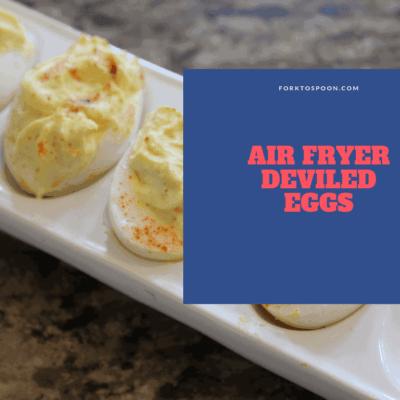 Air Fryer-Air Fried-Classic Deviled Eggs