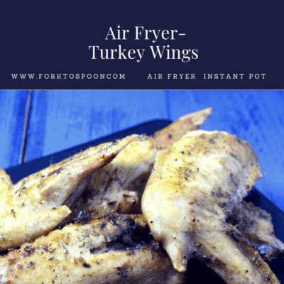 Air Fryer-Air Fried-Turkey Wings
