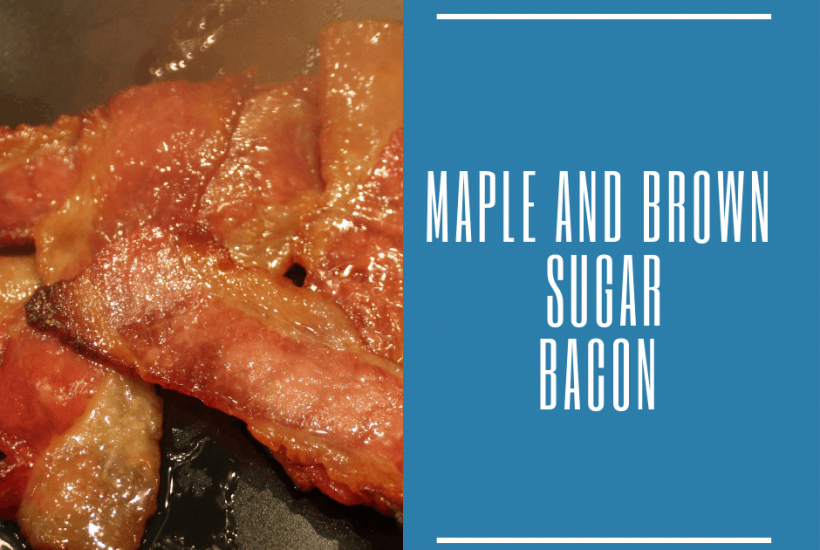 Air Fryer-Air Fried-Maple and Brown Sugar Bacon