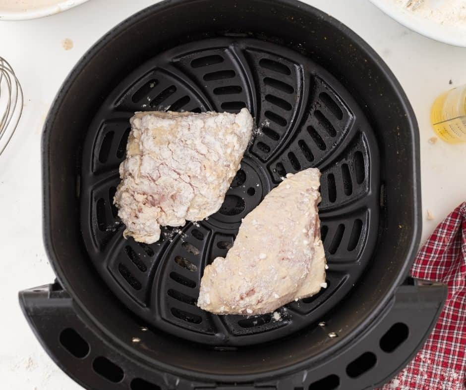 Air Fryer Buttermilk Fried Chicken