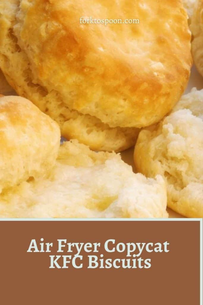 Air Fryer Copycat KFC Biscuits