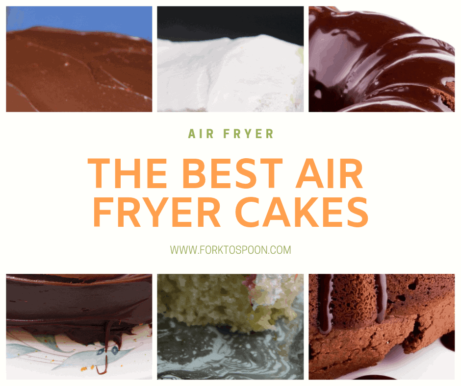 Round-Up The Best Air Fryer Cakes