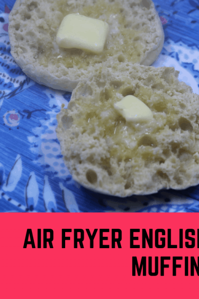 Air Fried-Air Fryer-Air Frying English Muffins