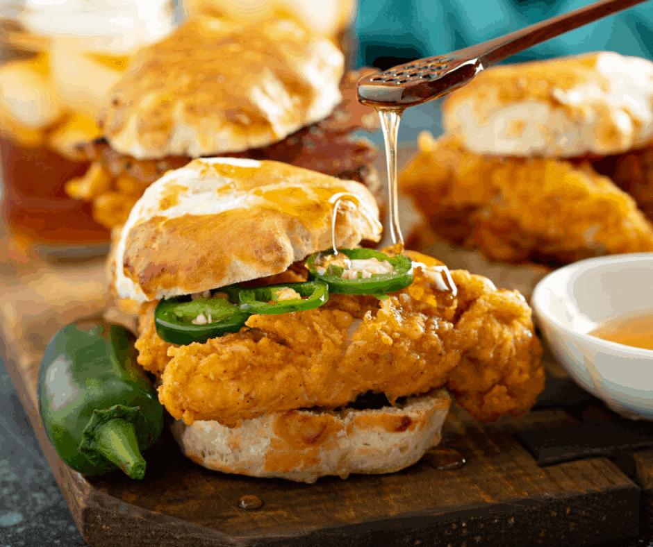 Air Fryer Buttermilk Fried Chicken Fork To Spoon
