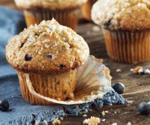 Air Fryer Starbucks Copycat Blueberry Muffins