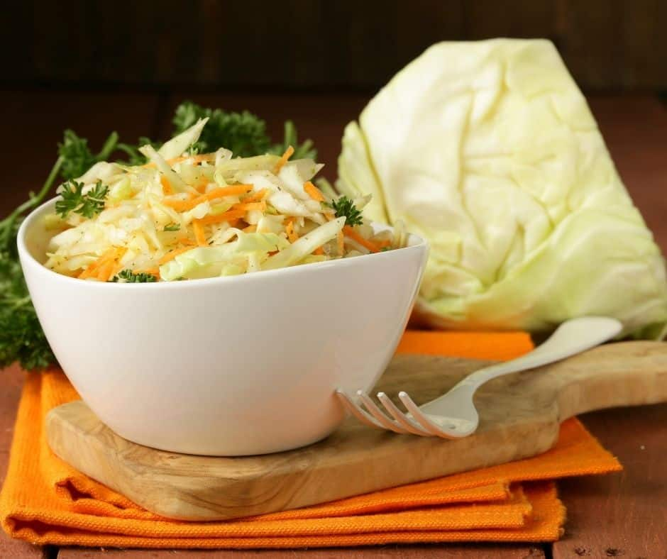 Ingredients Needed For Chick-Fil-A Copycat Coleslaw Recipe