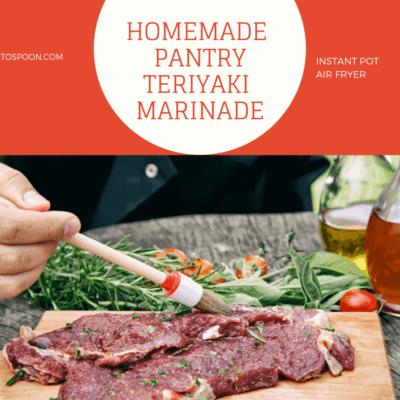 Homemade Pantry-Marinade For Steak-Teriyaki Marinade
