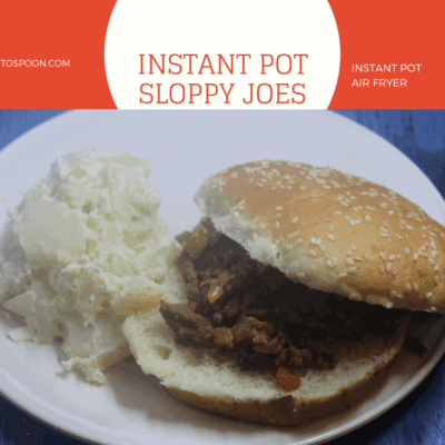 Pressure Cooker (Instant Pot) Sloppy Joes