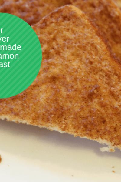 Air Fryer-Air Fried-Homemade Cinnamon Toast