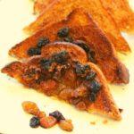 Air Fryer Cinnamon and Raisin Toast