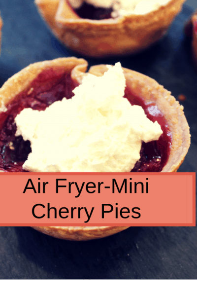 Air Fryer-Air Fryer-Homemade Mini Cherry Pies