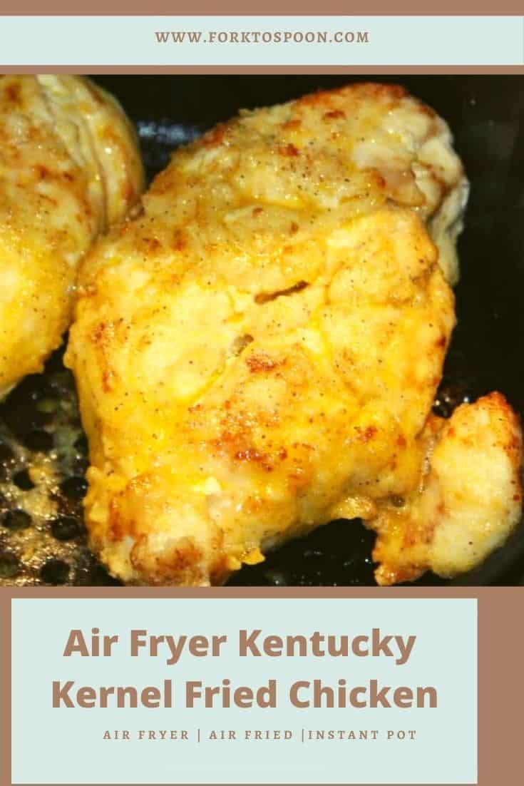 Air Fryer Kentucky Kernel Fried Chicken