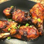 Air Fryer Sticky Honey Soy Chicken Drumsticks