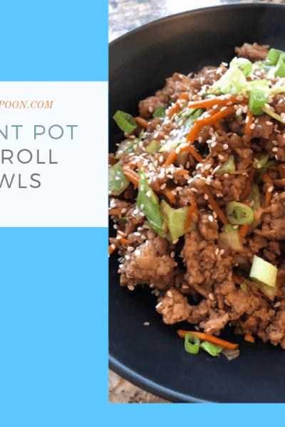 Pressure Cooker (Instant Pot) Egg Roll Bowls-Skillet Meal