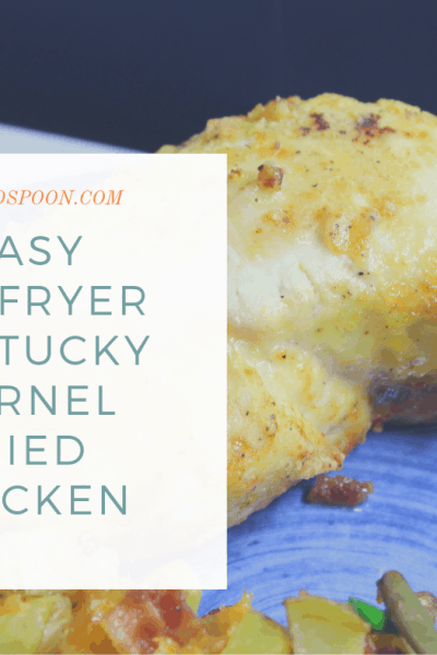 Air Fryer-Air Fried-Easy Kentucky Kernel Fried Chicken