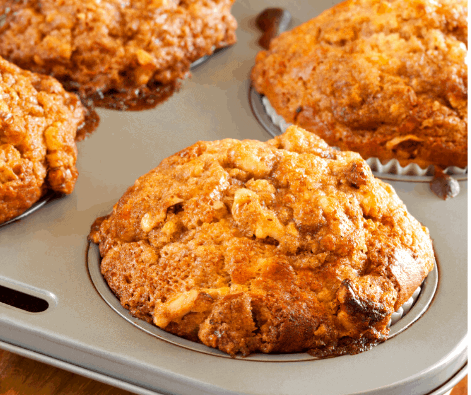 Air Fryer, Banana Walnut Muffins