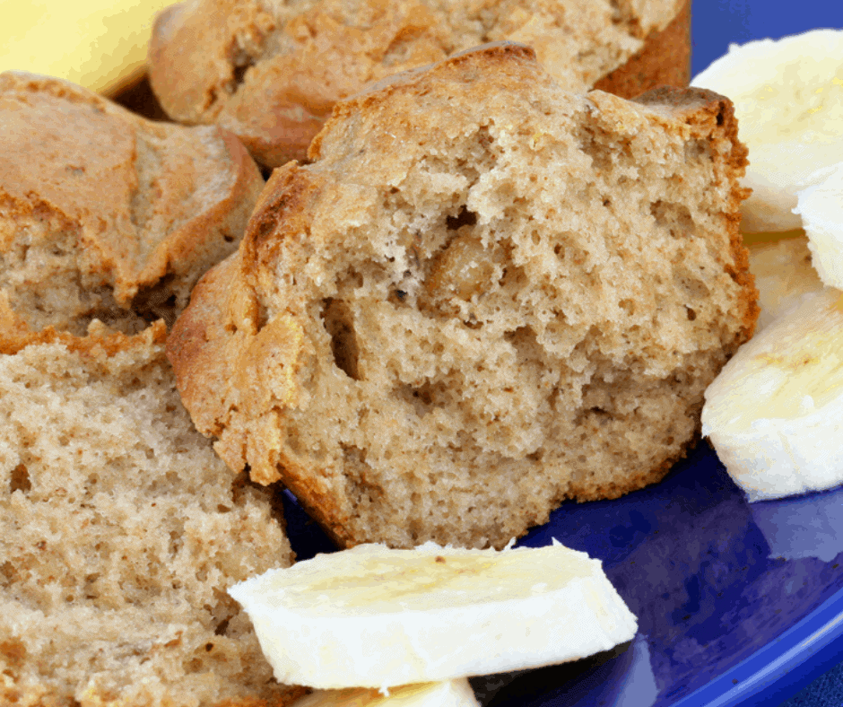 AIR FRYER, HOMEMADE BANANA MUFFINS