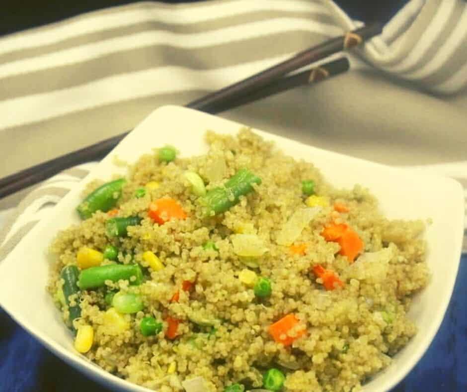 Instant Pot Quinoa Rice