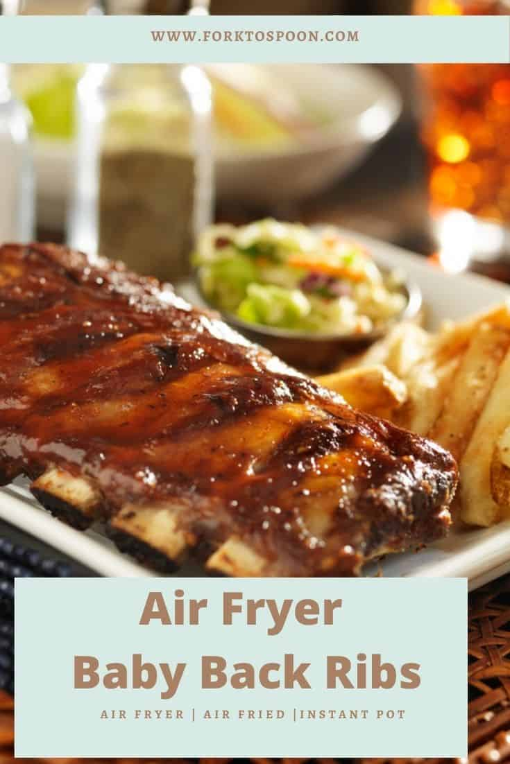 Air Fryer Baby Back Ribs