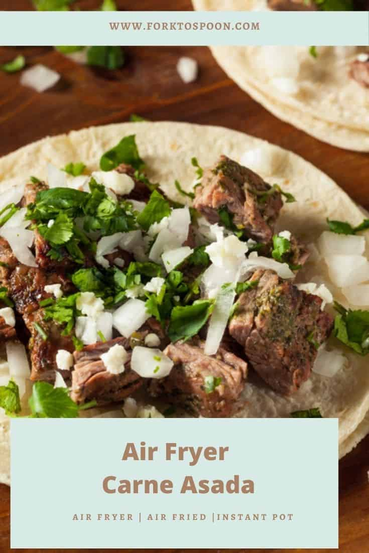 Air Fryer Carne Asada