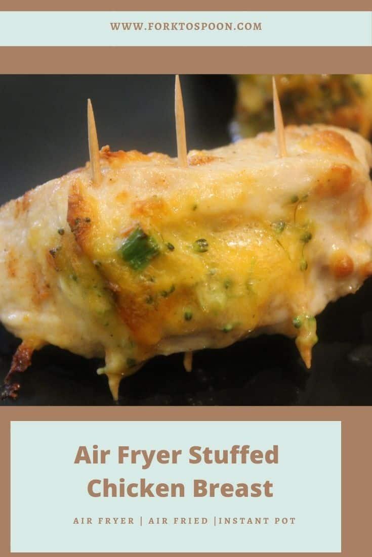 Air Fryer Stuffed Chicken Breast